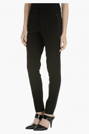 Slim Leg Trouser with Zip Detailing