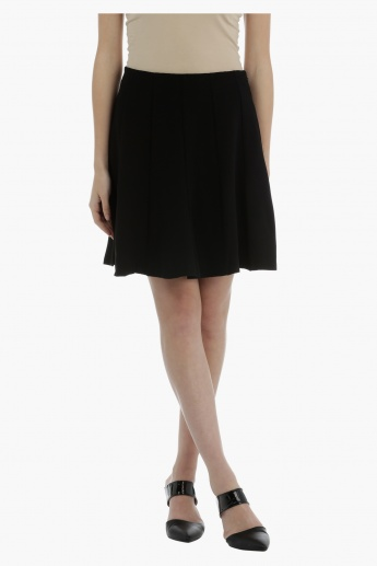 Flared Skirt with elasticised Waistband