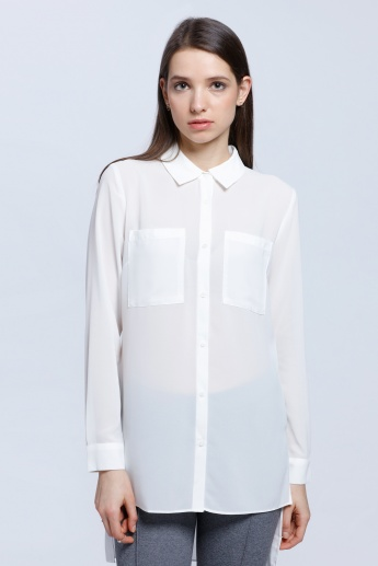 3314e2cfe4a04d Basic Collared Shirt