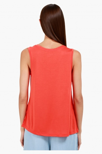 Sleeveless Top in Regular Fit