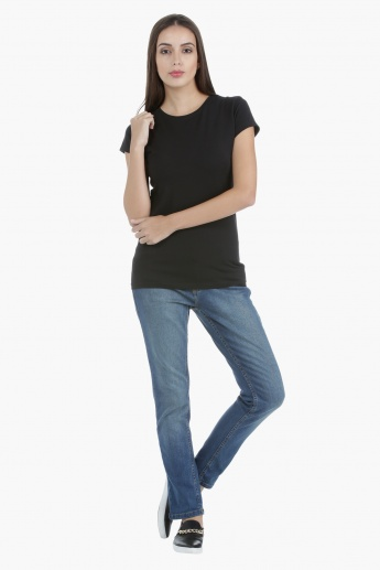 Basic T-Shirt in Regular Fit