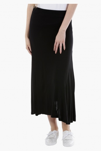 Basic Maxi Skirt in Regular Fit