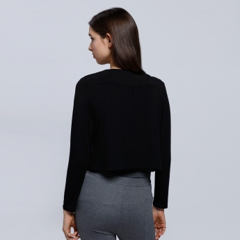 Bolero Jacket with Long Sleeves
