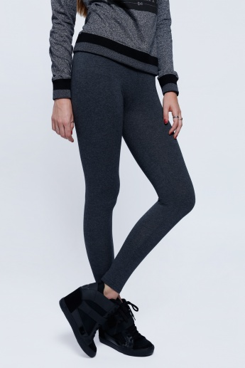 Full Length Leggings with Elastic Waistband