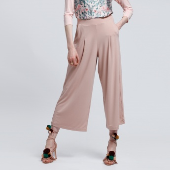 Culotte Pants with Pocket Detail