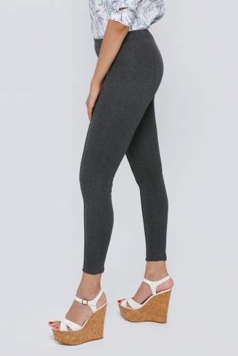 Leggings with Elasticised Waistband