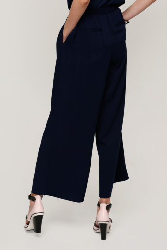 Full Length Palazzo Pants with Pocket Detail
