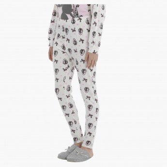 Sleeping Beauty All Over Print Leggings