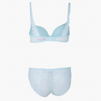 Padded Bra and Brief Set