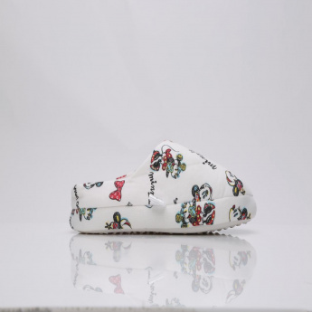 Minnie Mouse Printed Bedroom Slippers