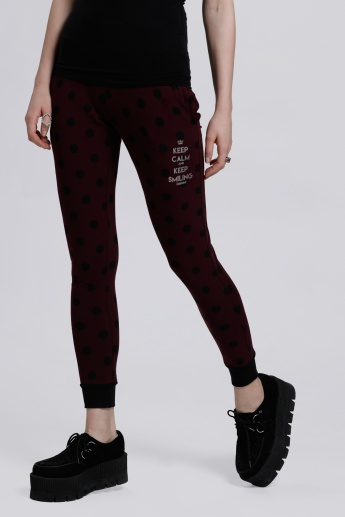 Smiley World Printed Jog Pants