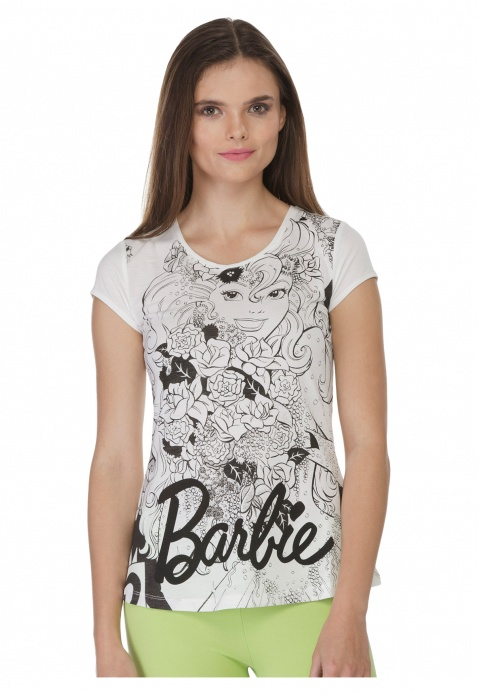 Barbie Printed Top