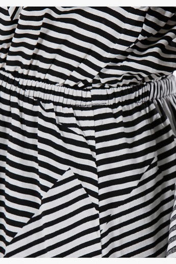 Striped Mini Dress in Regular Fit