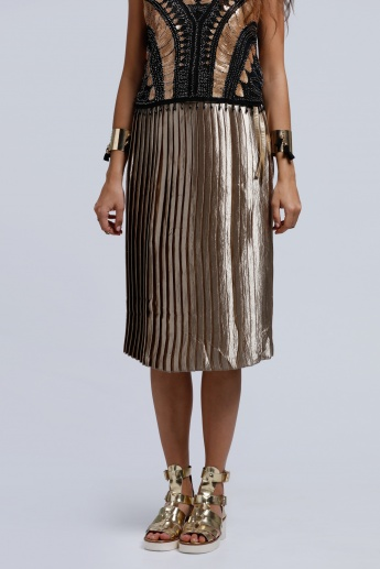 2Xtremz Pleated Skirt with Elasticised Waistband