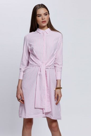 2Xtremz Long Sleeves Midi Dress