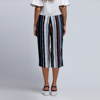 2Xtremz Stripes Culottes with Side Pockets